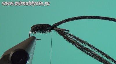 Нахлыст вязание жуков